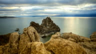 Time lapse Lake Baikal video