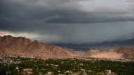 Time lapse: Leh Ladakh with storm video