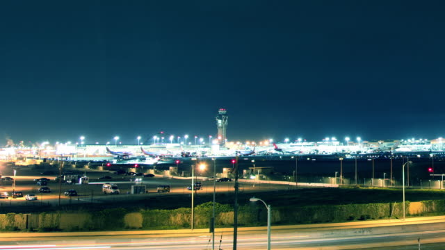 Time Lapse Los Angeles Airport (LAX) video
