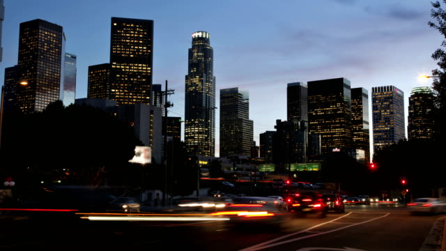Time Lapse - Los Angeles Skyline video