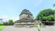 4K Time Lapse : Mendut Temple video