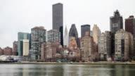4K Time Lapse : Midtown Manhattan video