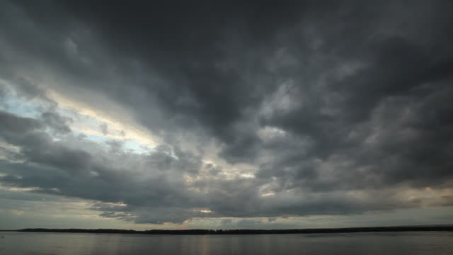 Time Lapse Morning Clouds video