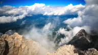 4K Time Lapse : Mountain Zugspitze video