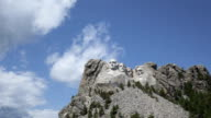 Time lapse Mt. Rushmore Presidents video