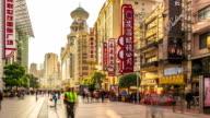 Time Lapse - Nanjing Rd Pedestrian Street (Panning) video