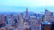 HD Time Lapse : New York skyline video
