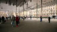 4K Time Lapse : Norman Foster's pavilion in Marseille video