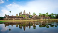 Time lapse of Angkor Wat, Siem Reap, Cambodia video