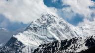 Time Lapse Of Annapurna Mountains, Himalaya, Nepal video