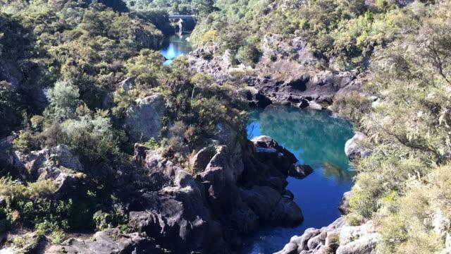 Time Lapse of  Aratiatia Rapids on the Waikato River New Zealand video