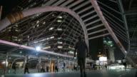 Time lapse of Bangkok CBD video