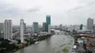 Time lapse of bangkok city video