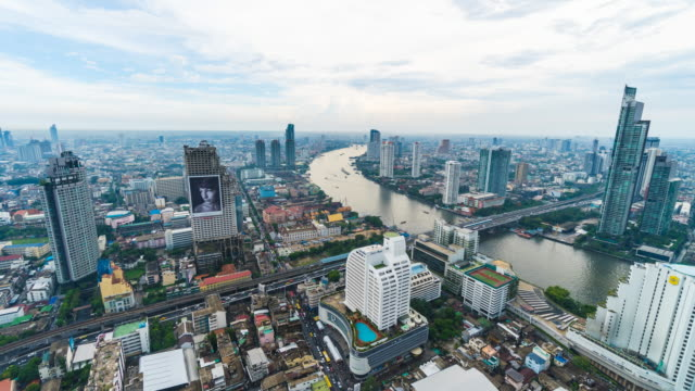 Time lapse of bangkok city video