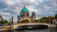 Time lapse of Berlin Cathedral, Berliner Dom, Germany video