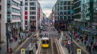 Time Lapse of Berlin Friedrichstrasse Shopping Street in Germany video
