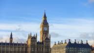 Time lapse of Big Ben and Houses of Parliament video