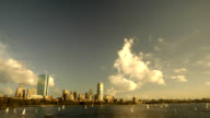 time lapse of Boston and Charles river video