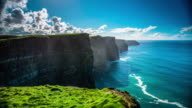 Time Lapse of Cliffs of Moher in Ireland video