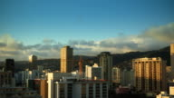 T/L of Clouds on Oahu video