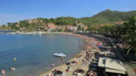 Time lapse of Collioure, bay of village in the south of France, Pyrenees Orientales, Languedoc Roussillon video