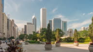 Time lapse of downtown Chicago video