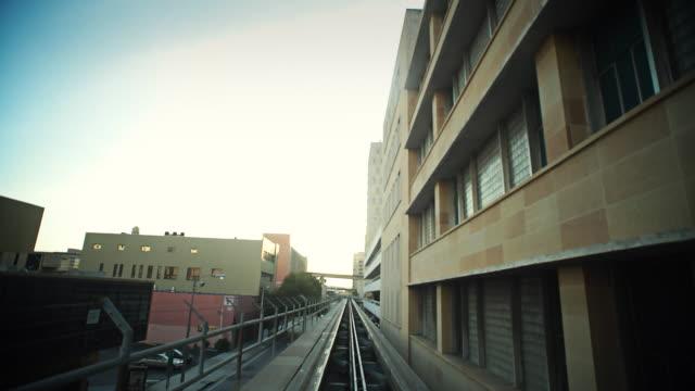 POV time lapse of downtown miami video