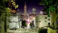 Time lapse of downtown San Francisco video
