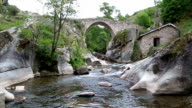 Time Lapse of flowing river video