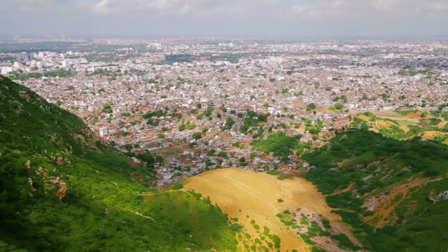Time lapse Of Jaipur Pink City video