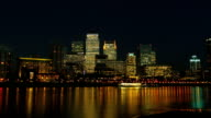 Time Lapse of London's Canary Wharf video