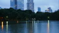Time lapse of Lumpini Park, Bangkok video