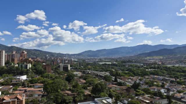 Time Lapse of Medellin Colombia video video