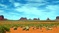 time lapse of Monument Valley panorama video