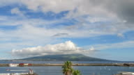 Time Lapse of Mount Pico seen from Faial / Horta / Azores video