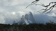 Time lapse of Mt. Fitzroy in El Chalten, Argentina video