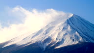 Time lapse of Mt Fuji, Japan video