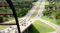 Time Lapse of Pennybacker Bridge and Hill Country in Texas video