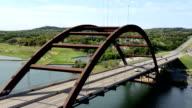 Time Lapse of Pennybacker Bridge in Austin, Texas video