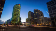 Time Lapse of Potsdamer Platz in Berlin video