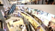 Time lapse of Shopping center video