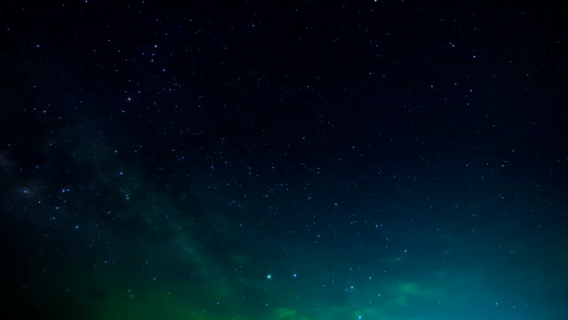 Time lapse of stars and the milk way. video