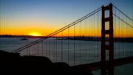Time Lapse Of The Golden Gate Bridge video