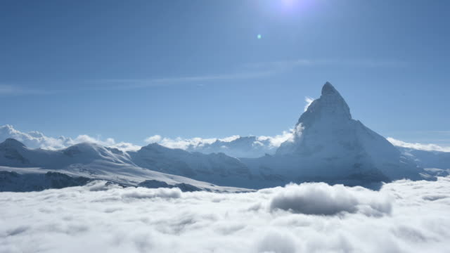 Time lapse of the Matterhorn, Switzerland video