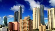 Time lapse of the skyscraper skyline video