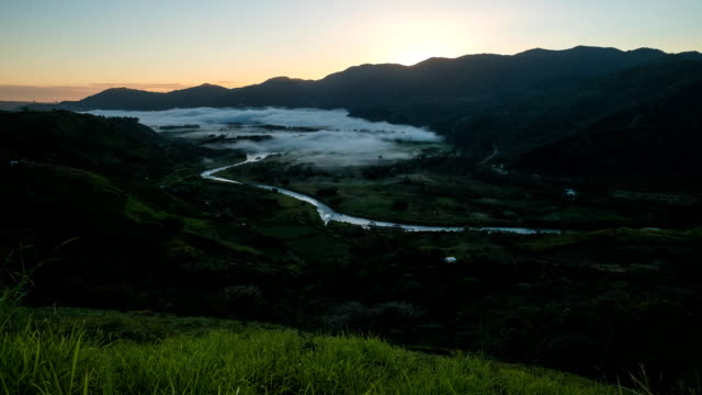 Time lapse of the valley of Orosi video