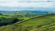 Time Lapse of Verdant Lancashire Pennine Valley video