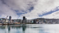 Time Lapse of Wellington Waterfront by Day video