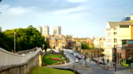 Time lapse of York Minster in the city of York, England video