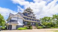 4K Time Lapse: Okayama Castle in Okayama, Japan video